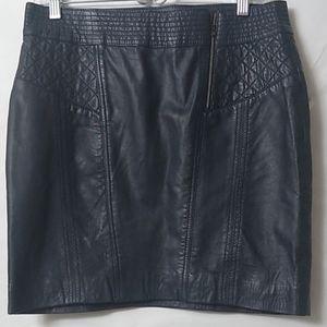 DKNY 100% Leather mini